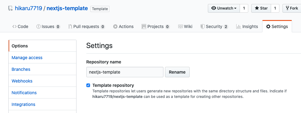 create-template-repository